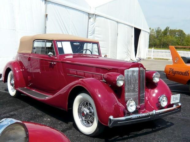 1935 Packard 1202 Eight Convertible Victoria