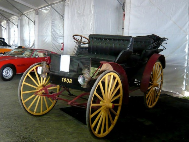 1908 International Model D High Wheeler