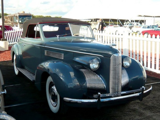1939 LaSalle Convertible Coupe