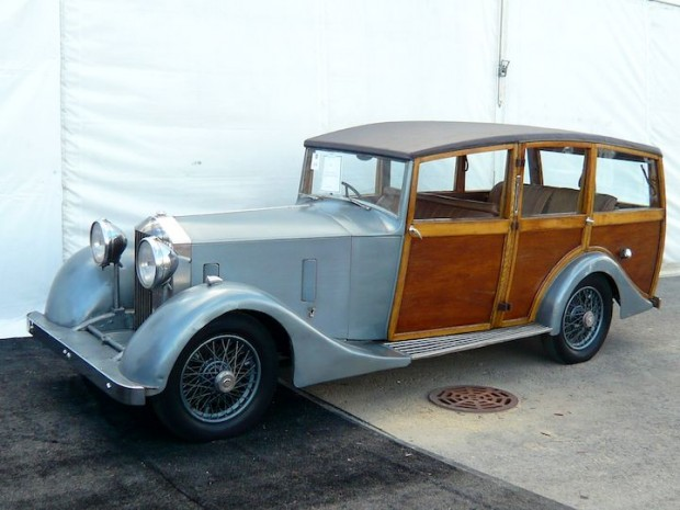 1933 Rolls-Royce 20/25 Shooting Brake, Body by Vincents of Yeovil