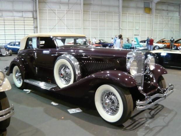 1934 Duesenberg Model JN Convertible Sedan, Body by Rollston