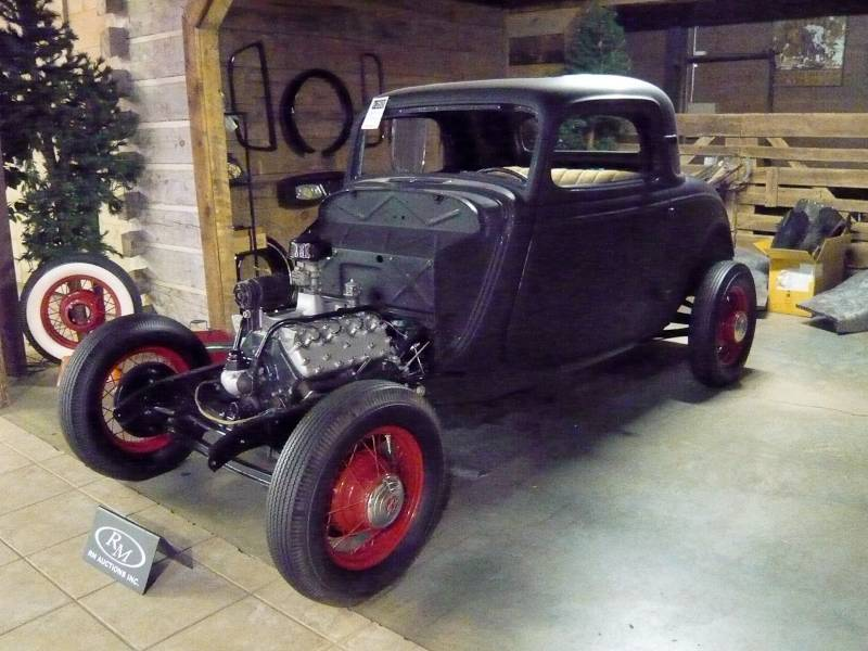 Milton robson collection auction report rm auctions for 1934 ford 3 window coupe project for sale