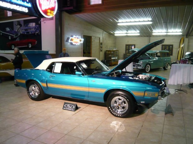 1970 Shelby Mustang GT500 Convertible