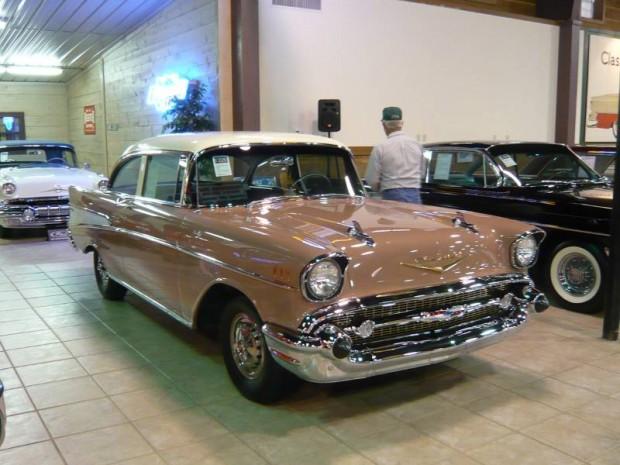 1957 Chevrolet Bel Air FI 2-Dr. Sedan