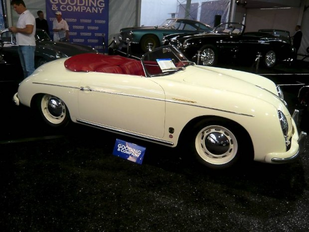 Porsche 356A Speedster, Body by Reutter