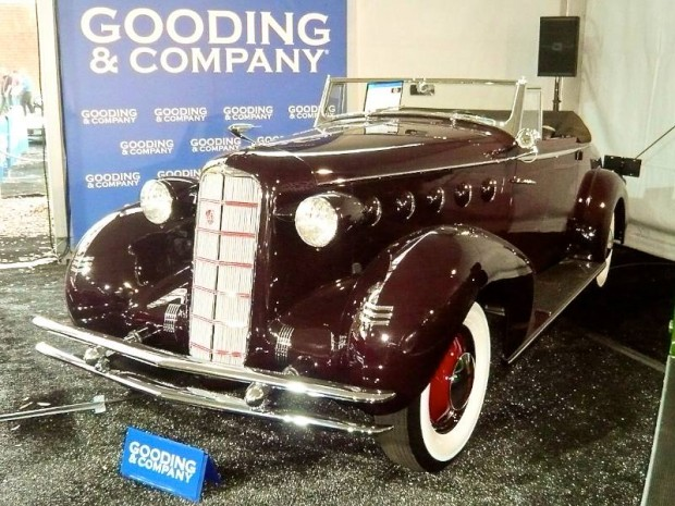 1934 LaSalle Series 50 Convertible Coupe, Body by Fleetwood