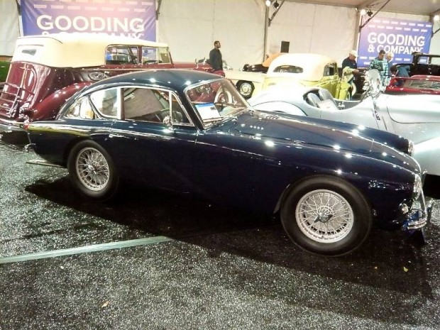 1958 Aston Martin DB Mark III Coupe, Body by Tickford