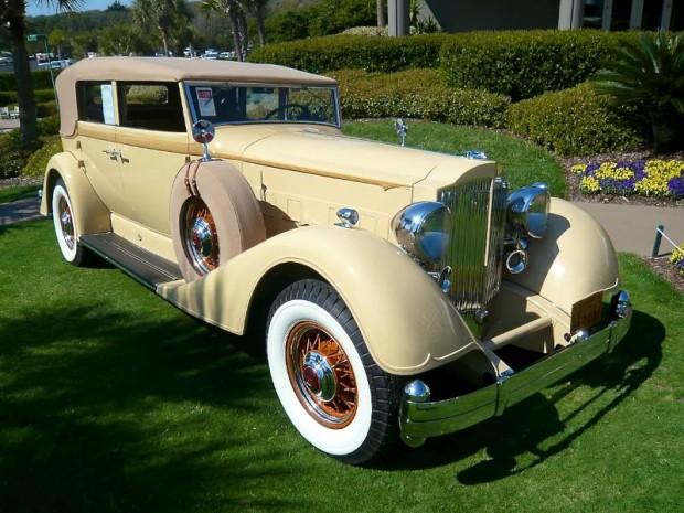 Packard Twelve 1107 Convertible Sedan