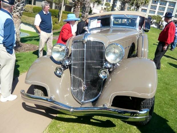 1933 Chrysler CL Imperial Dual Cowl Phaeton, Body by LeBaron