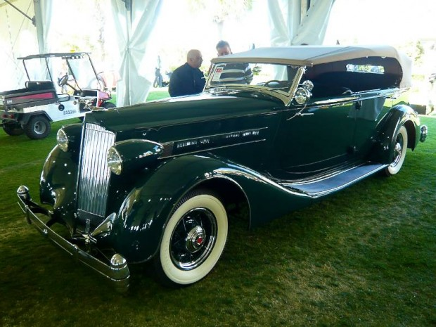 1936 Packard Eight 1402 Phaeton, Body by Dietrich