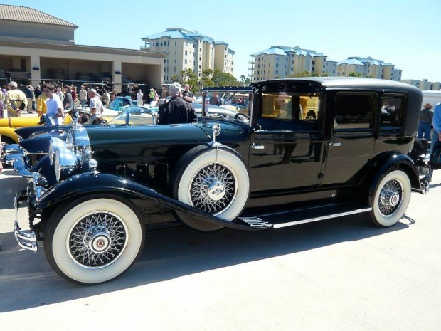1930 Packard Super Eight All-Weather Town Car, Body by LeBaron