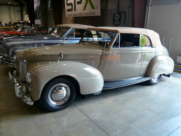 1949 Humber Super Snipe 3-pos. Drophead Coupe