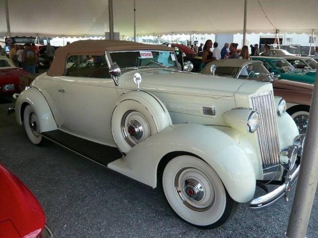 1936 Packard 120B Convertible Coupe