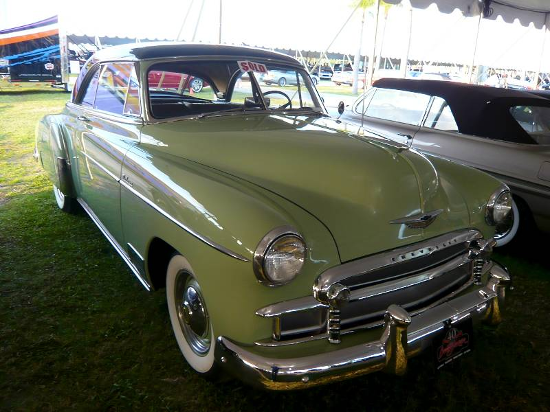 Barrett jackson palm beach 2011 auction report and analysis for 1950 chevy belair 2 door hardtop