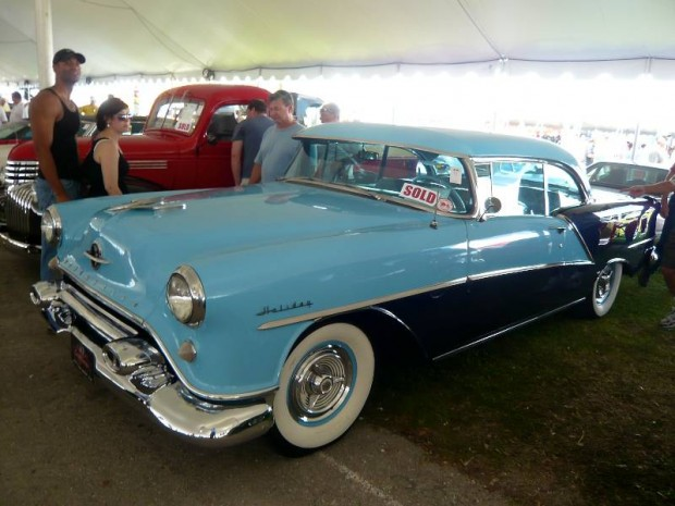1954 Oldsmobile 98 2-Dr. Coupe Holiday