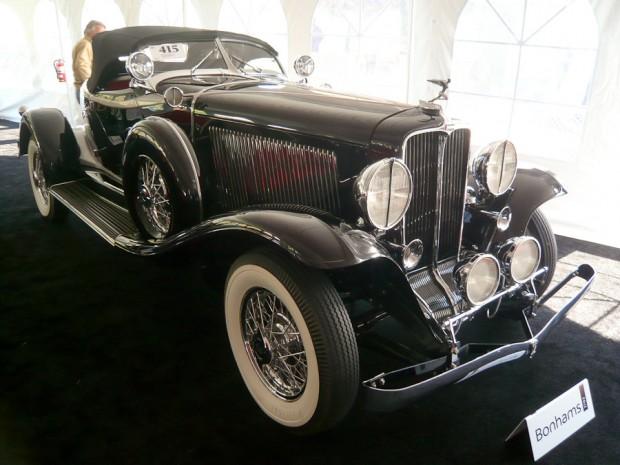1932 Auburn 12-160 Boattail Speedster
