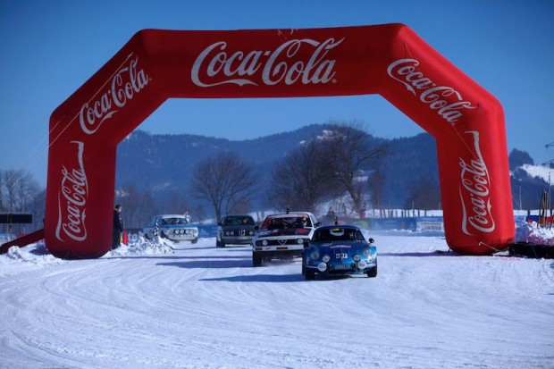 Alpine was among entrants at the Winter Ice Trophy 2013