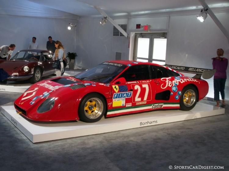 1981 Ferrari 512 BB/LM Bellancauto Le Mans Endurance