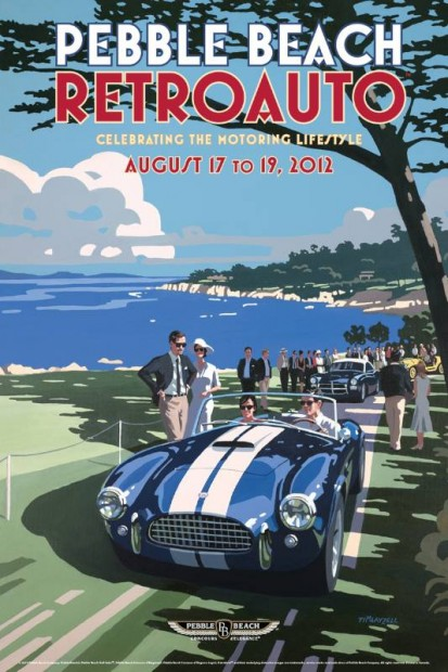 Posters Revealed For 2012 Pebble Beach Concours D 39 Elegance