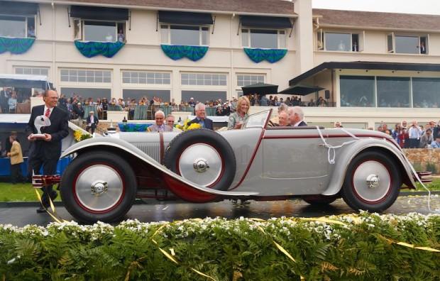 1928 Mercedes-Benz 680S Saoutchik Torpedo won Best of Show at the Pebble Beach Concours d'Elegance 2012 (Photo: Daimler AG)