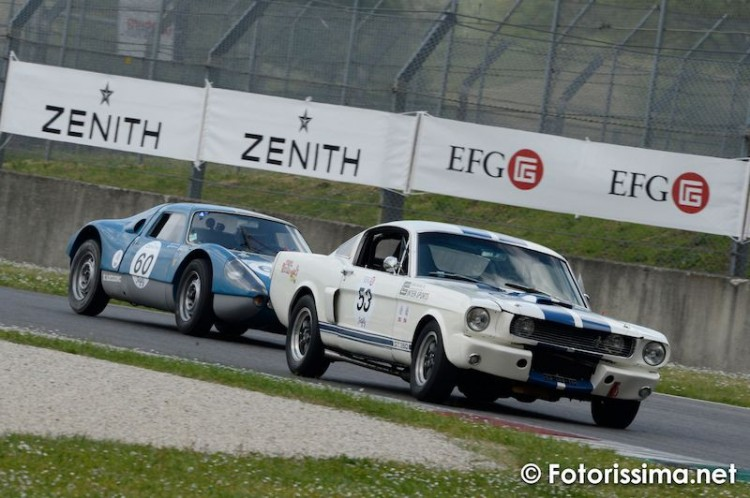 Ford Mustang and Porsche 904