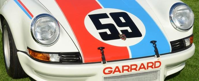 Brumos Porsche 911 RSR at Porsche Race Car Classsic