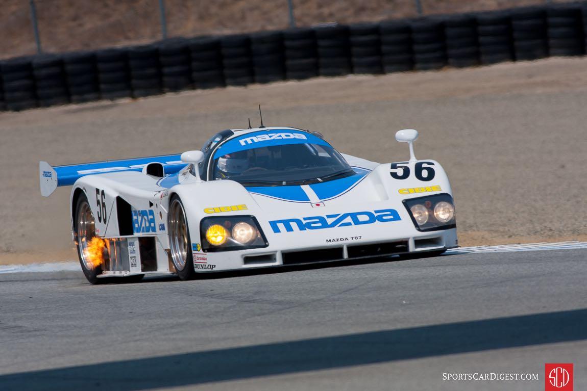 Robert Davis - Mazda 787