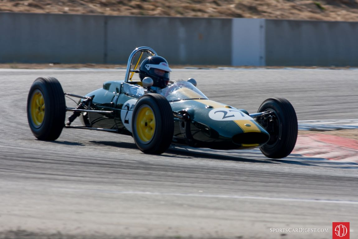 Chris Locke - Lotus 27 Formula Junior