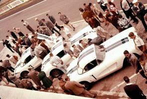Team Cunningham Chevrolet Corvettes at Le Mans 24 Hours, 1960