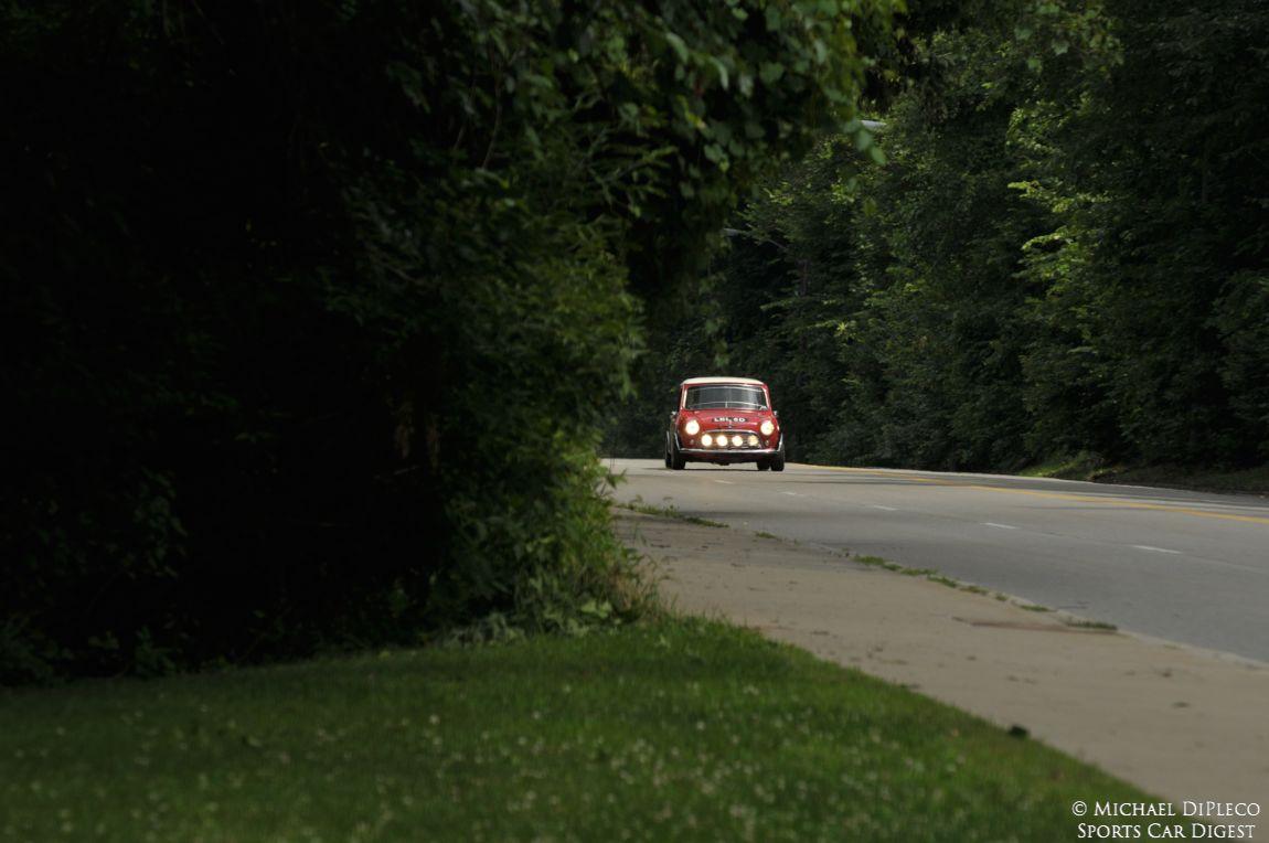 Dennis Racine- 1966 Morris Mini Cooper S.