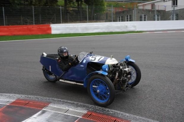 Morgan 'Flat Sides' Aero - Robert Towell and Charles Reynolds