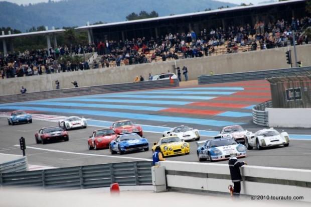 Tour Auto Groupe H grid at Paul Ricard