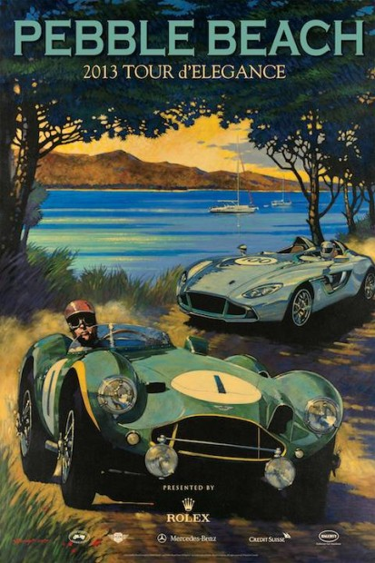 Pebble Beach Tour Poster 2013