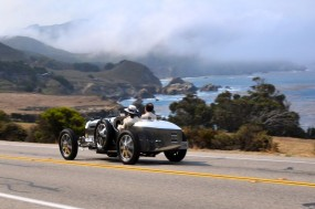 Bugatti GP touring California coast