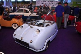 1965 Peel Trident micro car
