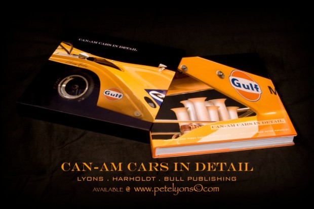 Can-Am Cars in Detail Book by Pete Lyons and Peter Harholdt