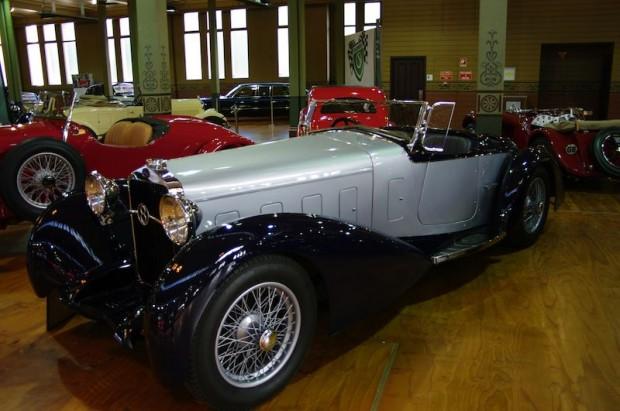1932 Delage D8S at Motorclassica