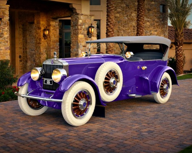 1919 Pierce-Arrow 66 A-4 Tourer
