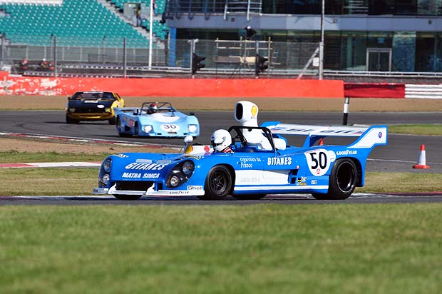 Pole position Matra 670C of Rob Hall. Photo: Simon Wright