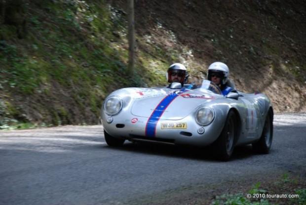 Porsche 550 A of Ricci/Stoesser