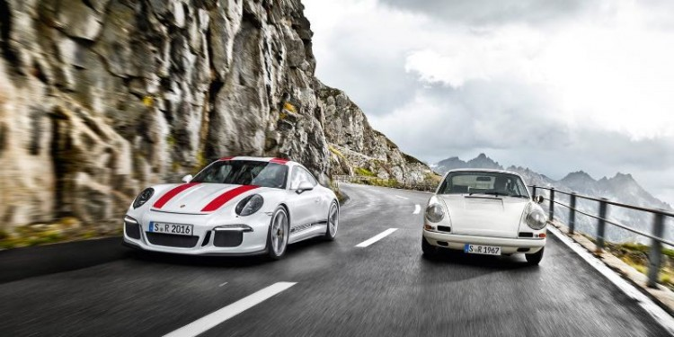 Porsche 911 R - Young and Old