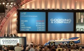 1973 Porsche 917 Can-Am Auction Block