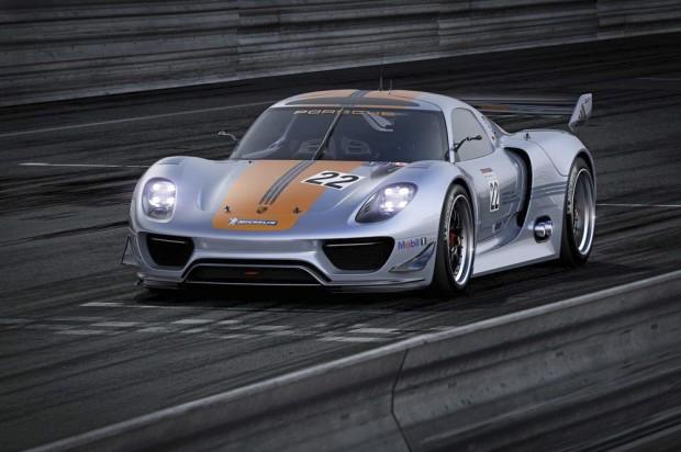 Porsche 918 RSR Front Close