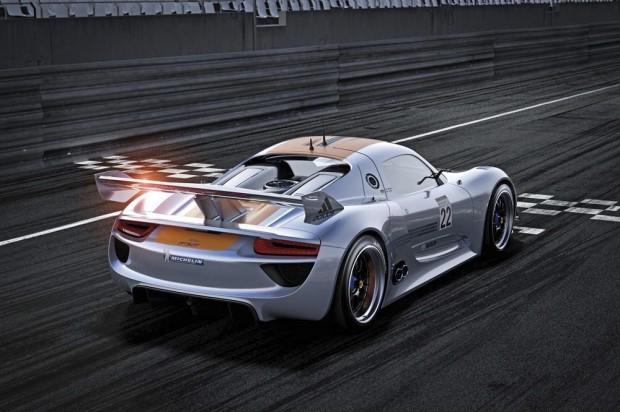 Porsche 918 RSR Rear