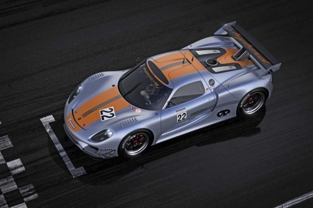 Porsche 918 RSR Top