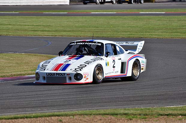 Porsche 935 of Michael Foveny and Stefan Roytmayer 3rd in GT2. Photo: Simon Wright