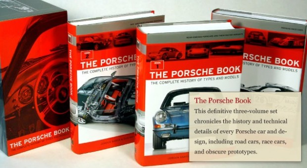 Porsche Book - The Complete History of Types and Models