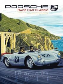 Porsche Race Car Classic Official Poster