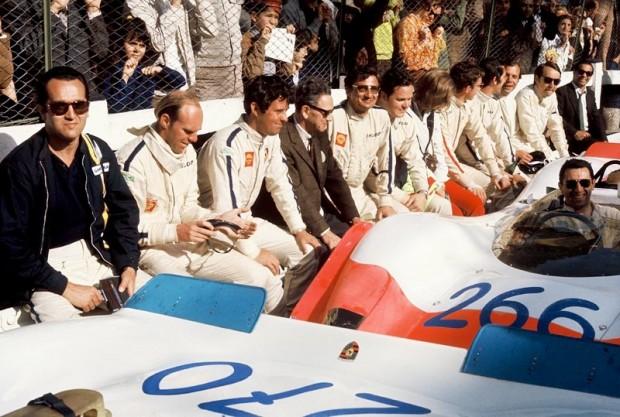Porsche at Targa Florio 1968