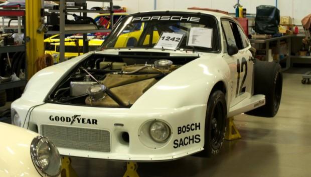 Prepping Porsche 935 for vintage racing